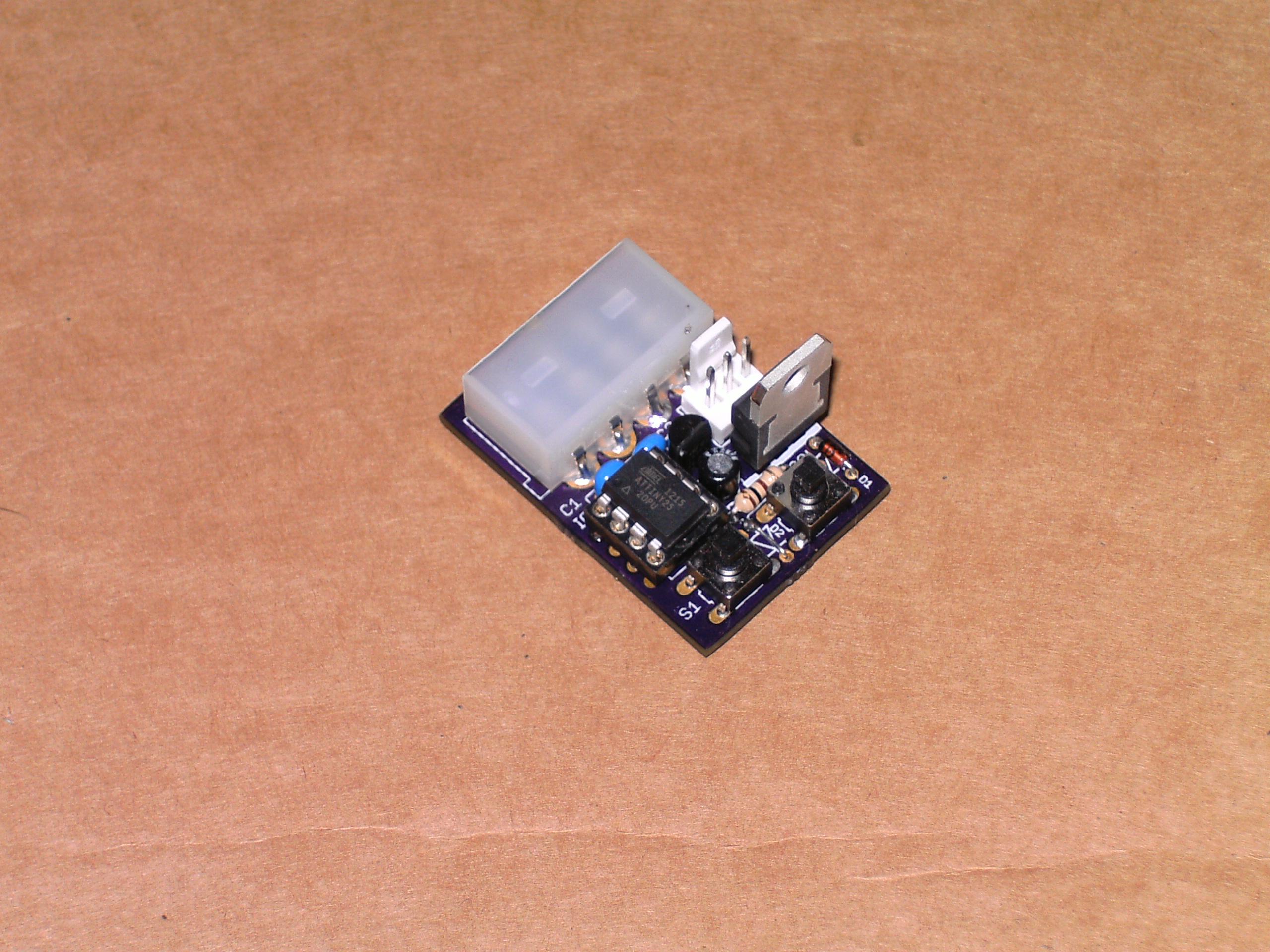 AVR microcontroller based PWM fan controllers – Zak's Electronics