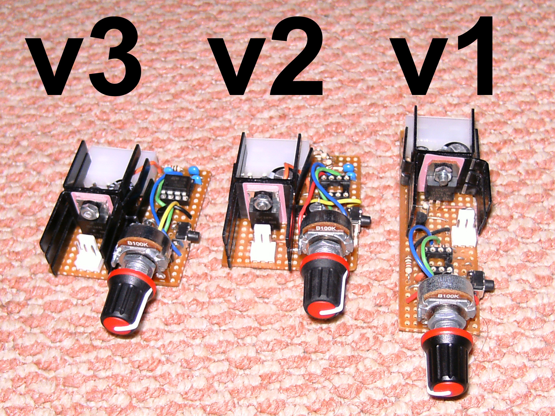 Pwm Fan Controllers Using The 555 Timer Ic Zaks Electronics Blog Controller
