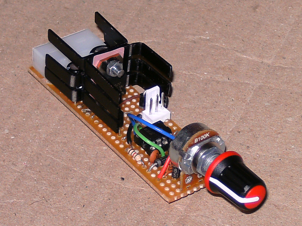 Pwm Fan Controllers Using The 555 Timer Ic Zaks Electronics Blog Dice Circuit Diagram And Counter Ics Controller V1
