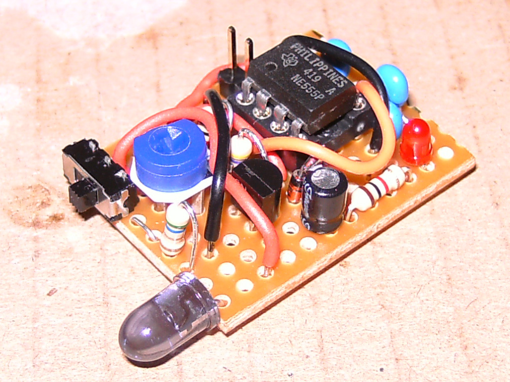 Ir Jammer Zaks Electronics Blog Circuits Electronic Circuit Parts For Project Projects On Talking