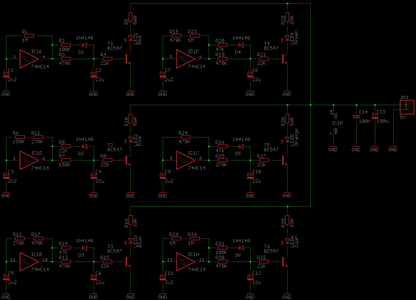 Leds Looking Pretty Zaks Electronics Blog 555 Led Flasher One Transistor Blinking Circuit 1 5 Fader Schematic
