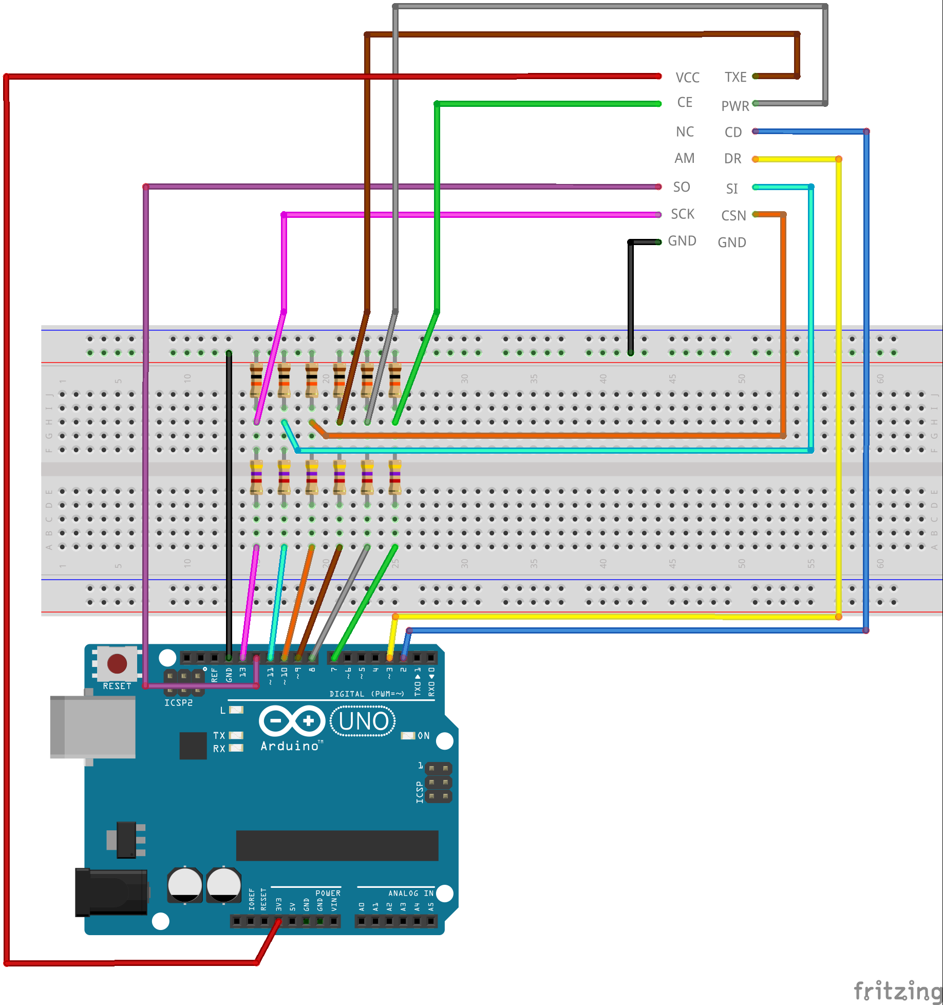 NRF24L01 with Arduino - Response Timed Out - The
