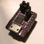 A breakout module for the MCP2221, design available on the GitHub repo