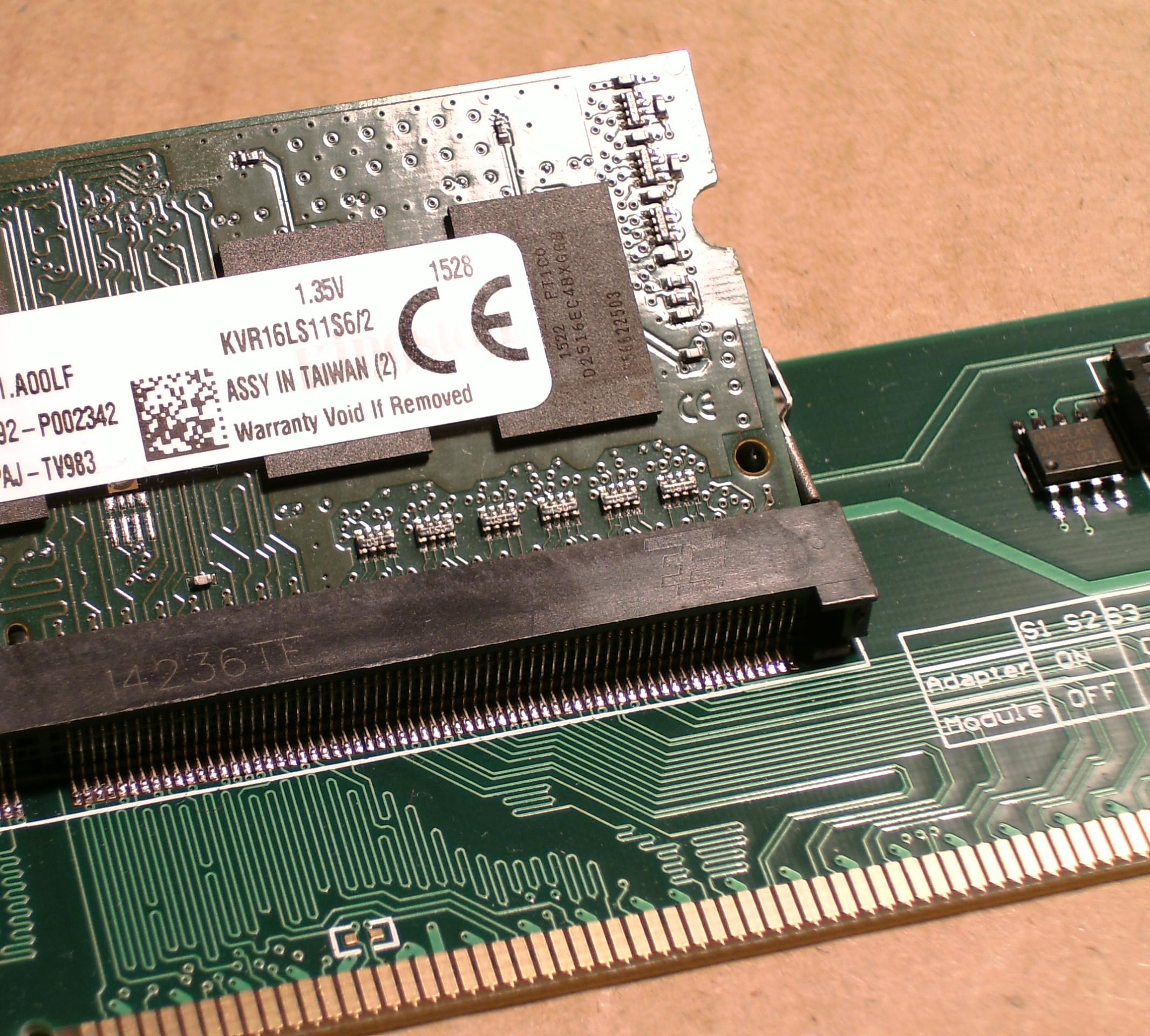 Modifying RAM SPD Data – Zak's Electronics Blog ~*