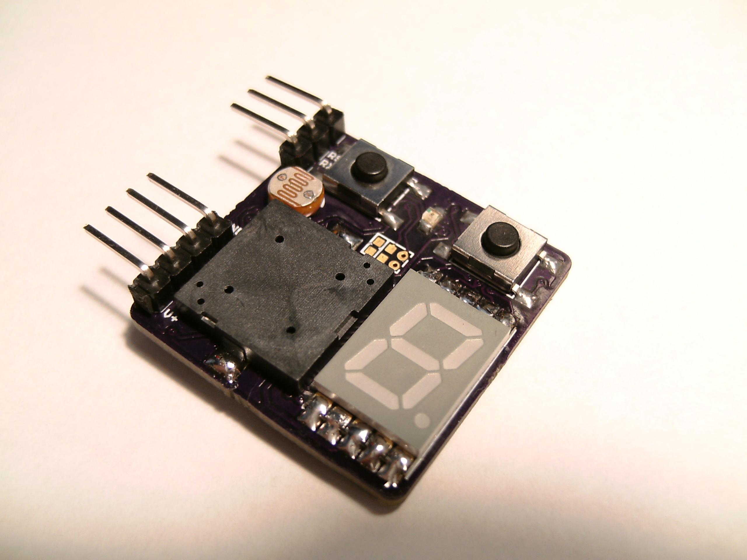 Car Rev Alarm and Gear Indicator – Zak's Electronics Blog ~*